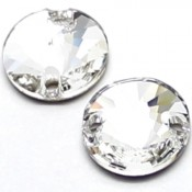 Sew-on Stones Swarovski (Пришивные кристаллы Сваровски) Rivoli пришивные цвет Crystal (Кристальный)