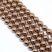 Round Pearl Swarovski (Круглый жемчуг Сваровски) 5810 Жемчуг Сваровски цвет Bronze Бронза