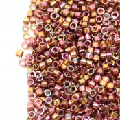 Японский Бисер MIYUKI Delica Pink Luster Light Olive [DB126]