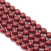 Round Pearl Swarovski (Круглый жемчуг Сваровски) 5810 Жемчуг Сваровски (Pearl) Bordeaux