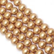 Round Pearl Swarovski (Круглый жемчуг Сваровски) 5810 Жемчуг Сваровски Vintage Gold