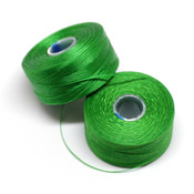 Нити, иглы, крючки Нить для бисера S-Lon AA зеленая