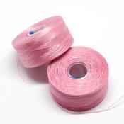 Нити, иглы, крючки Нить для бисера S-Lon AA розовая