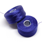 Нити, иглы, крючки Нить для бисера S-Lon AA синяя