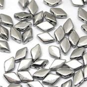 Чешские бусины GemDuo Bronze Aluminum