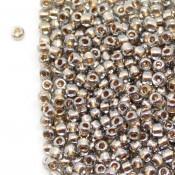 Японский Бисер TOHO Черный бриллиант внутр. золоч. [993]