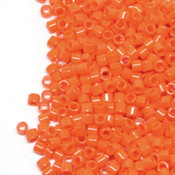 Японский Бисер MIYUKI Delica Opaque Orange (DBM0722)