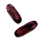Round Stones Swarovski (Ювелирные кристаллы Сваровски) Long Classical Oval Сваровски цвет Amethyst