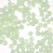 Биконусы Swarovski Chrysolite Opal