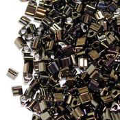 Японский Бисер TOHO Треугольный металлик коричневый ирис (83)