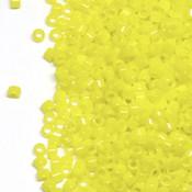 Японский Бисер TOHO Цилиндрический непрозрачный лимонный (42)