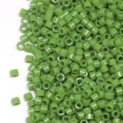 Японский Бисер TOHO Цилиндрический непрозрачный зеленый (47)