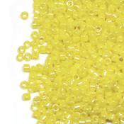 Японский Бисер TOHO Цилиндрический жемчужный желтый (128B)
