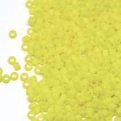 Японский Бисер TOHO Цилиндрический матовый лимонный (42F)