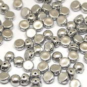 Чешские бусины кабошоны Silver (27000CR)