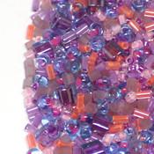 Японский Бисер TOHO Микс TOHO №10 фиолетово-розово-голубой