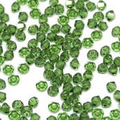 Биконусы Swarovski Fern Green
