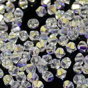 Биконусы Swarovski Crystal AB