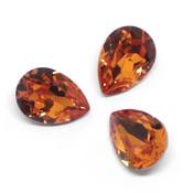 Fancy Stone Swarovski (Капли Сваровски) 4320 Капли Swarovski Tangerine