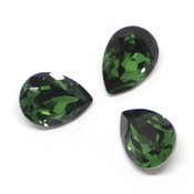 Fancy Stone Swarovski (Капли Сваровски) 4320 Капли Swarovski Dark moss green