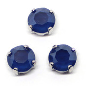 Кристаллы Swarovski в цапах (оправах) Шатоны Сваровски в оправах родий ss39 Royal Blue