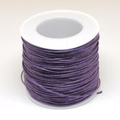 Ленты, шнуры Шнур вощеный фиолетовый