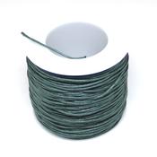 Ленты, шнуры Шнур вощеный зеленый