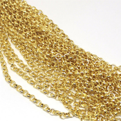 Фурнитура для украшений Цепочка Якорное плетение Золото