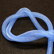 Ленты, шнуры Бижутерная сетка темно-голубая