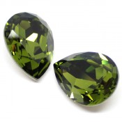 Fancy Stone Swarovski (Капли Сваровски) 4320 Fancy Stone капли Olivine