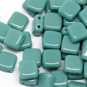 Чешская тила Opaque - Turquoise (63140)