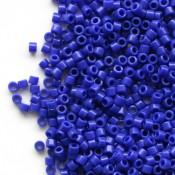 Японский Бисер MIYUKI Delica Opaque Dark Blue (DB726)
