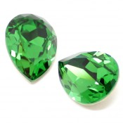 Fancy Stone Swarovski (Капли Сваровски) 4320 Fancy Stone капли Fern Green