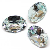 Round Stones Swarovski (Ювелирные кристаллы Сваровски) Oval Swarovski Light Azore