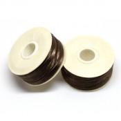 Нити, иглы, крючки Нитки Nymo размер В коричневые