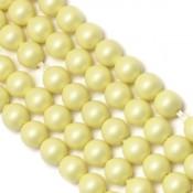 Round Pearl Swarovski (Круглый жемчуг Сваровски) 5810 Жемчуг Сваровски цвет Pastel Yellow